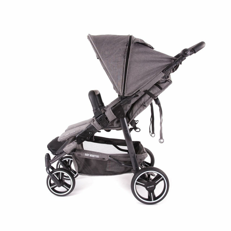 Baby Monsters Easy Twin 3.0 Complete Double Stroller - Texas Limited Edition