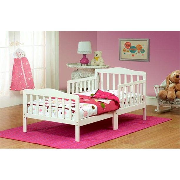 Orbelle Solid Wood Toddler Bed
