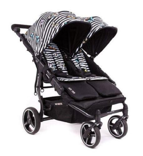 Baby Monsters Easy Twin 3.0S Complete Double Stroller