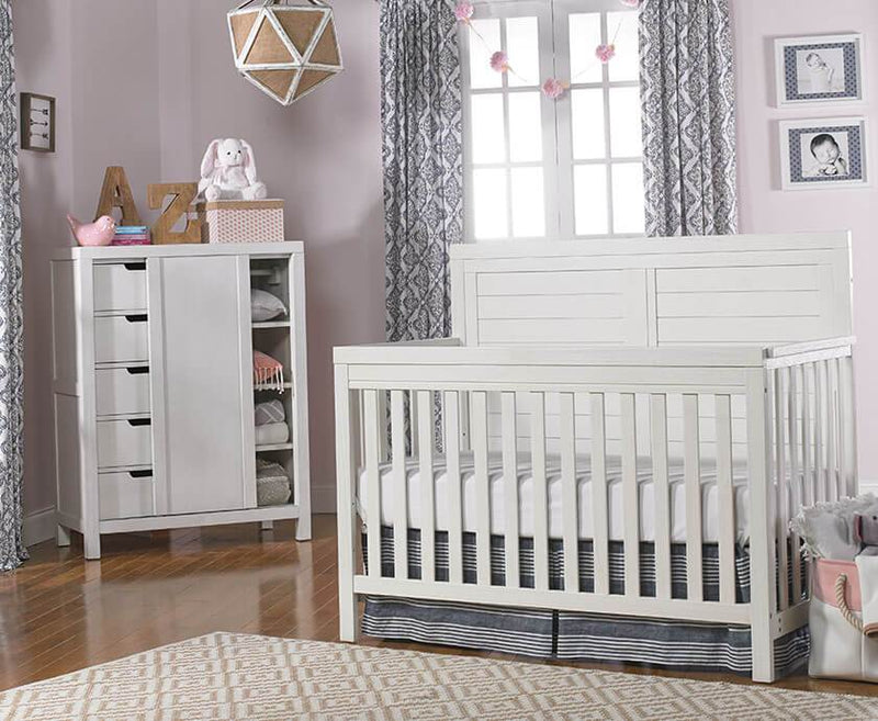 TiAmo Castello 5-in-1 Convertible Crib - Mega Babies