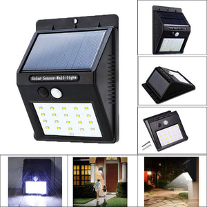 Outdoor LED Solar Light With Motion Sensor (Waterproof)