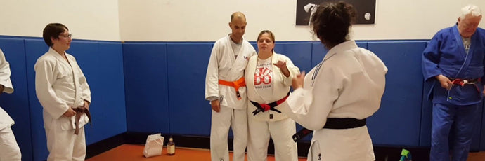 Master Alma Qualli's Last Kata Class at The Philadelphia Judo Club
