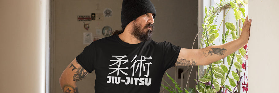 Lifestyle Photography | Men's Fitted Short Sleeve T-Shirt for Jiu-Jitsu Training and Conditioning