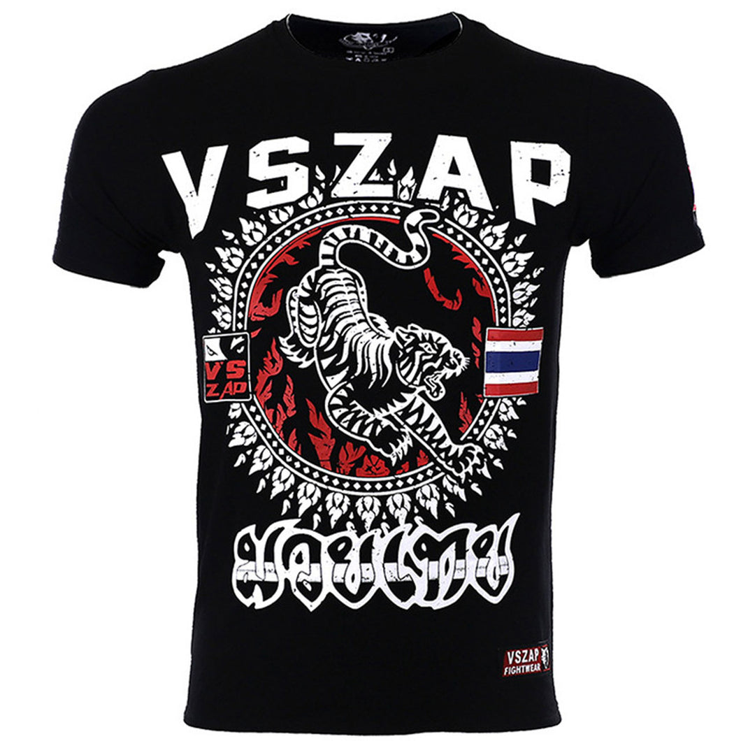Tiger Style 001 Athletic Fit T-Shirt - VSZap 009 - Soldier Complex
