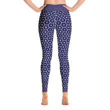 Women's African Print Adinkra High Waist Yoga Pants Workout Leggings For Jiu Jitsu 001 - Soldier Complex