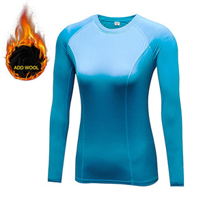 Women's Long Sleeve Jiu Jitsu Rash Guard in Assorted Colors Yuerlian - Soldier Complex