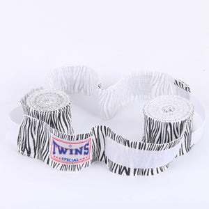Zebra Stripe Hand Wraps for Boxing, KickBoxing, Muay Thai and MMA - Twins - Soldier Complex