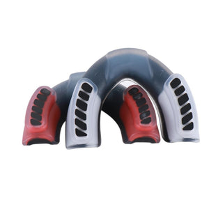 Red Dual Layer Boxing Mouth Guard - Soldier Complex