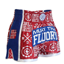 Drill More Than A Drill Bit Muay Thai Shorts - Floury 001 - Soldier Complex