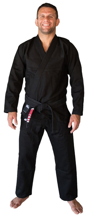 solid black bjj gi