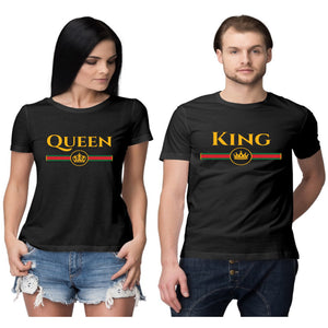 Royal King and Queen Couple T shirt