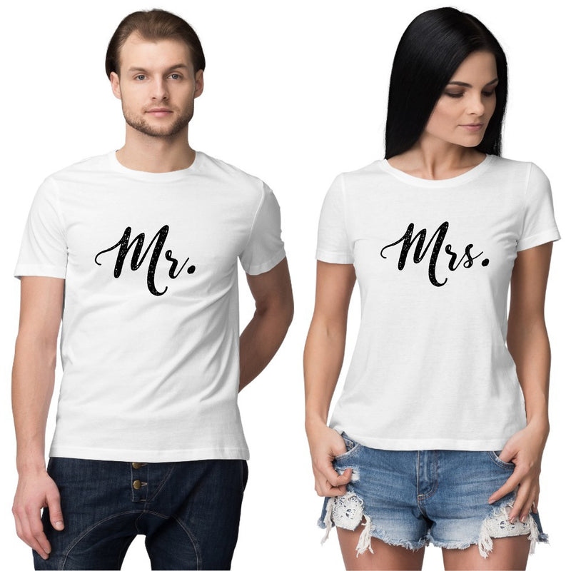 Mr. and Mrs. Couple T shirt
