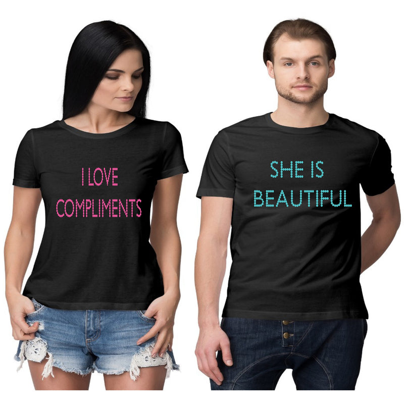 Praise A Girl To Win Her Love Couple T shirt