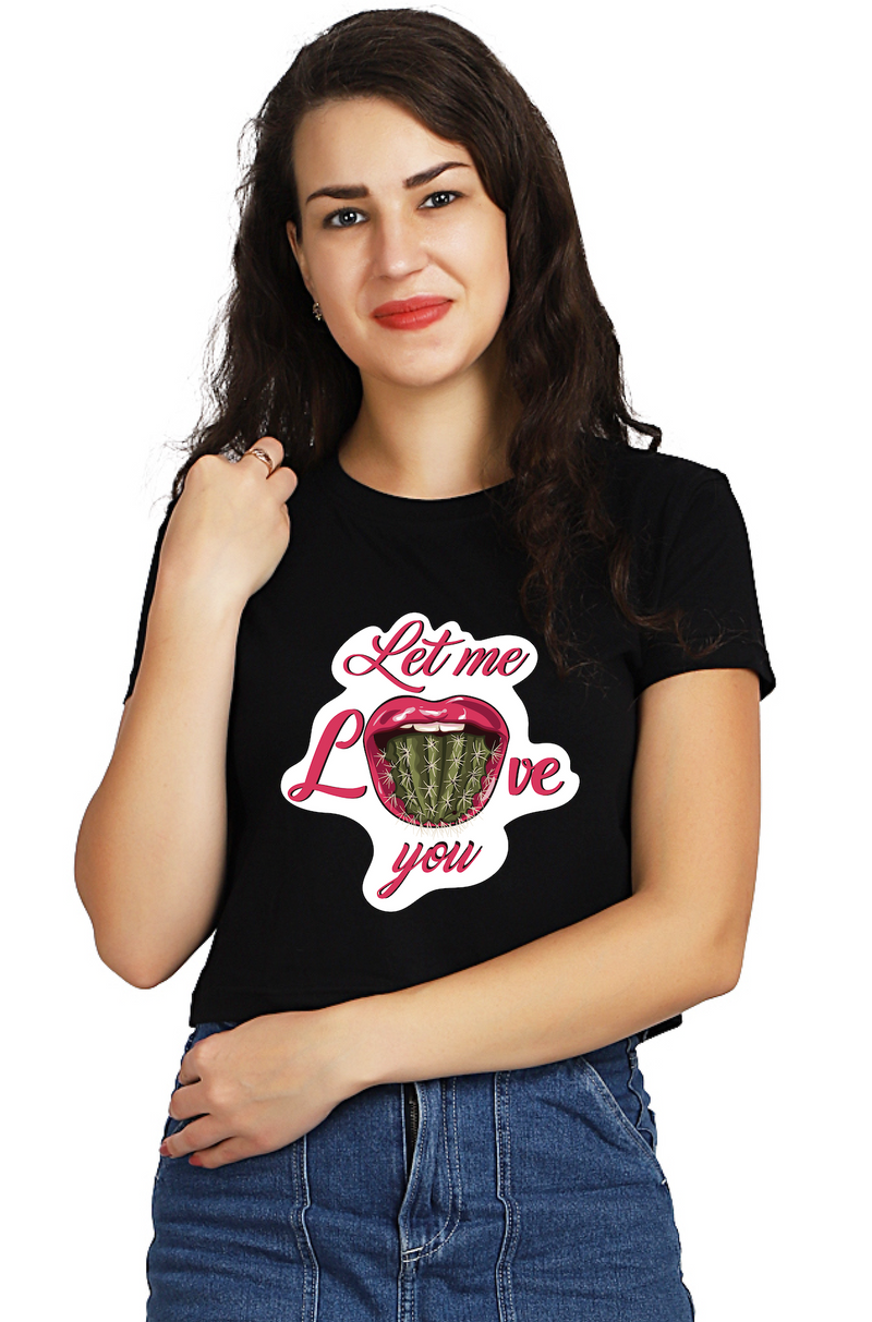 Cactus Tongue Crop TOP