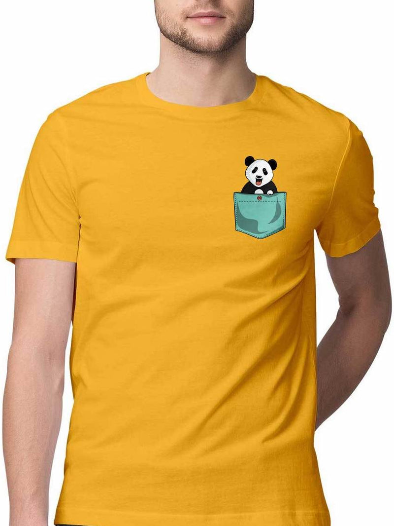 ANDA PANDA VIRTUAL POCKET T SHIRT