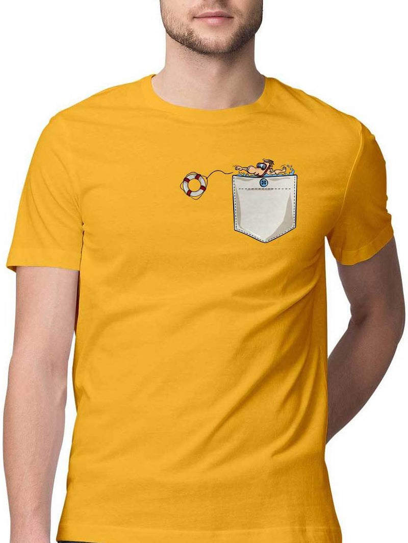 LIFE GUARD VIRTUAL POCKET T SHIRT
