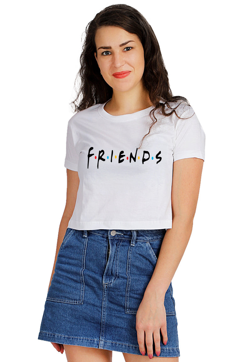 FRIENDS CROP TOP