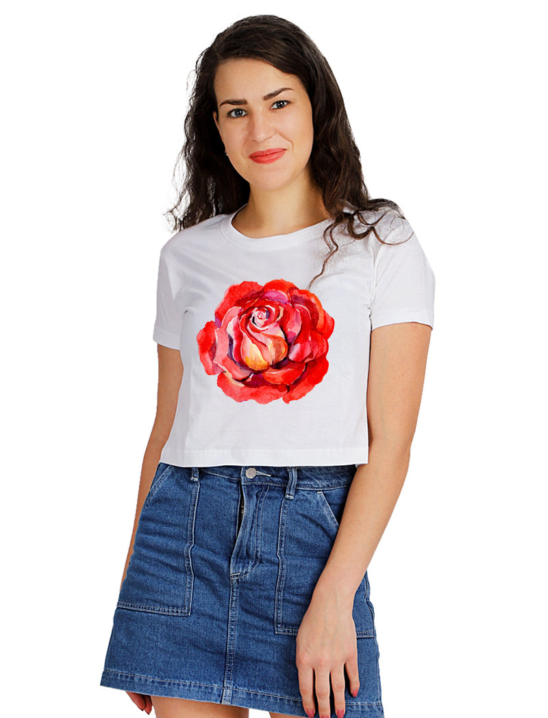Vnius Rose Crop TOP