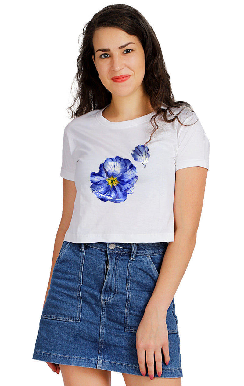 Par Caerula Crop TOP