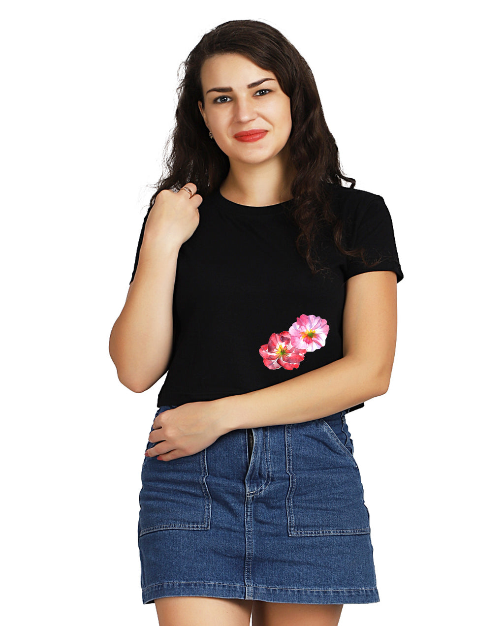 Gratulatio Et Punicei Crop TOP