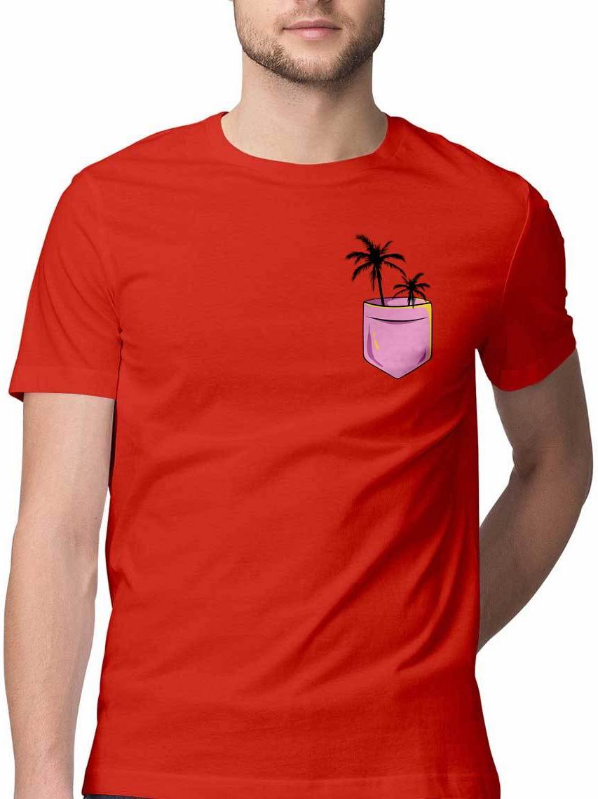 GO WENT GOA VIRTUAL POCKET T SHIRT