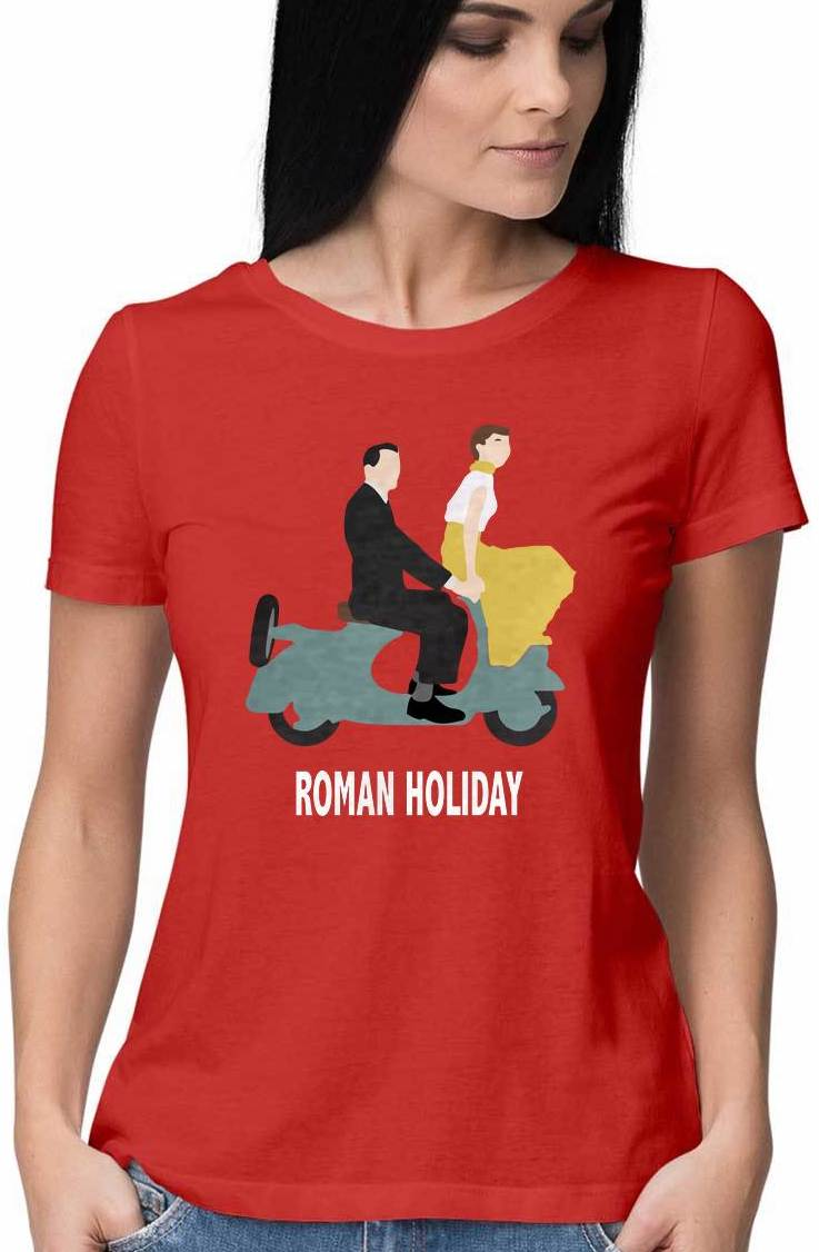 ROMAN HOLIDAY T SHIRT