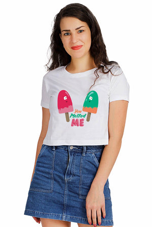 You Melted Me Crop Top