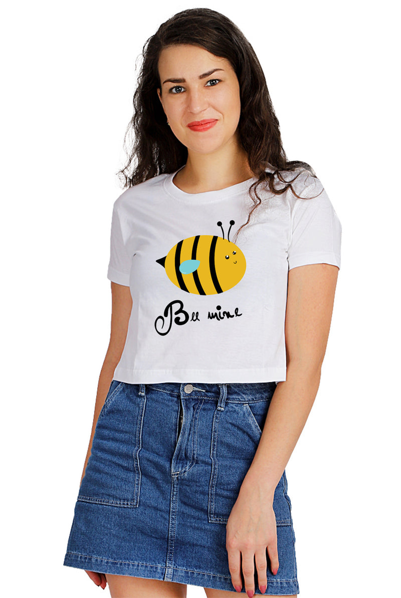 Bee Mine Crop Top