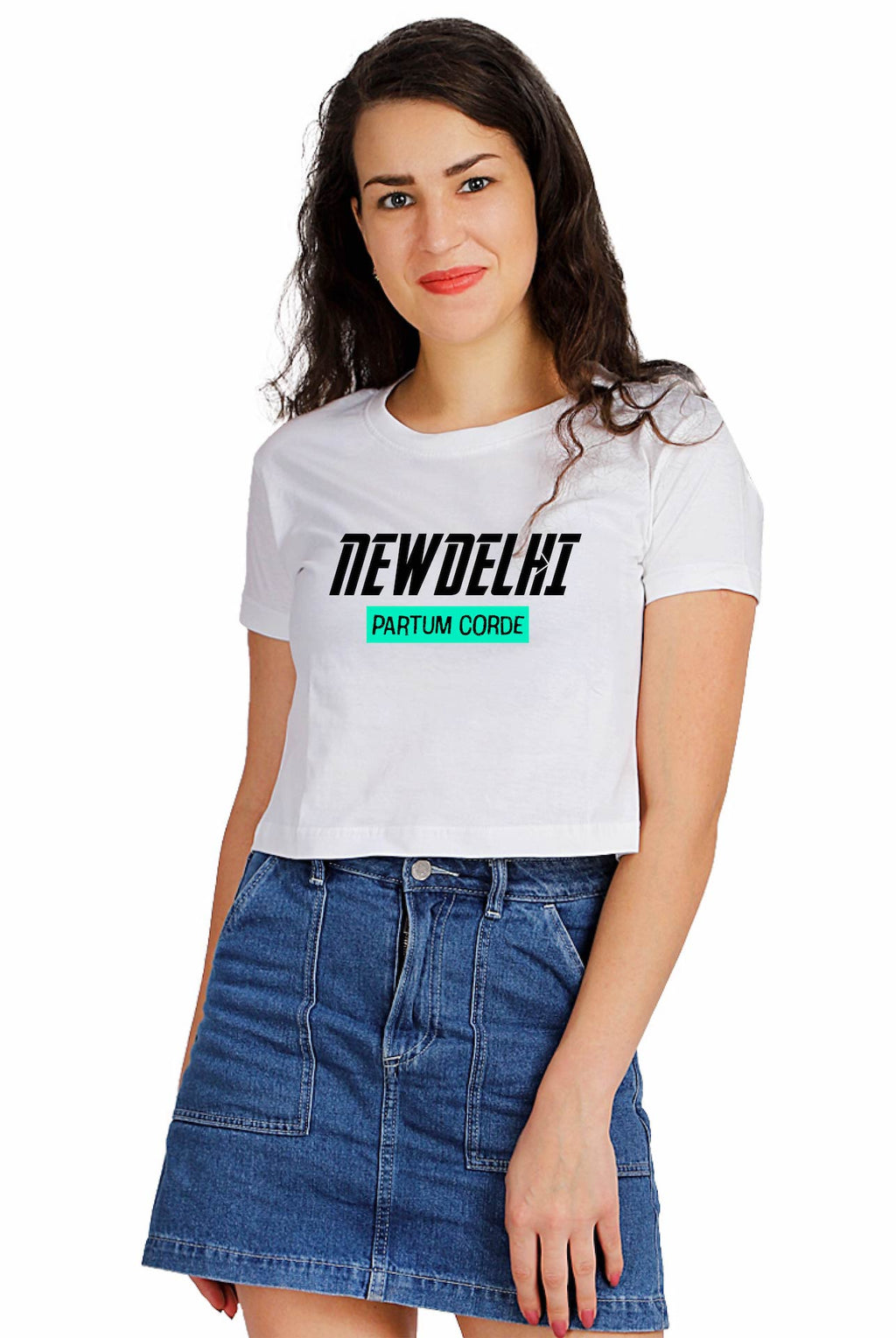 New Delhi Crop Top