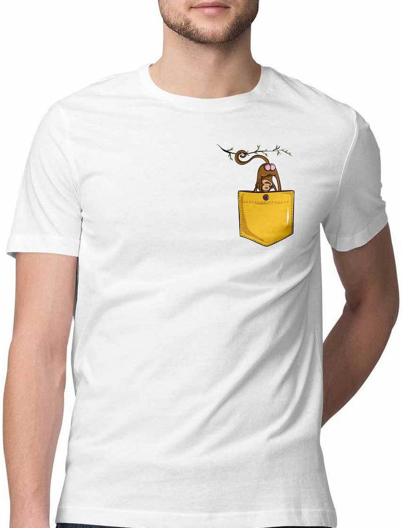 MONKEY BUSINESS VIRTUAL POCKET T SHIRT