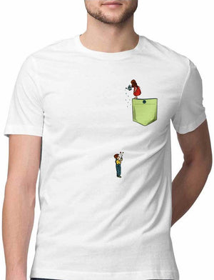 I LOVE YOU FOR WATERING MY PLANTS VIRTUAL POCKET T SHIRT