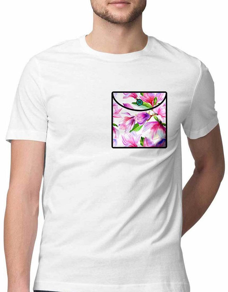 FLUENTER FRAGRANCE VIRTUAL POCKET T SHIRT