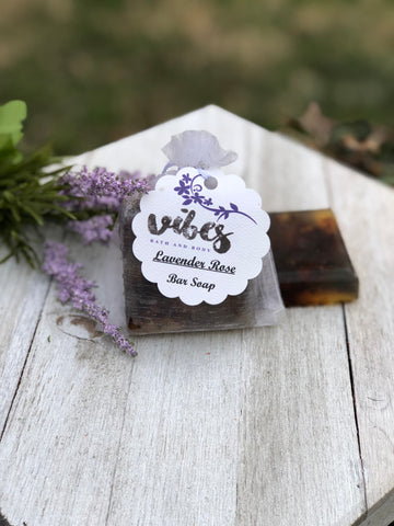 Bar Soap (Lavender/Rose)