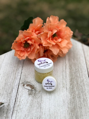 Lip Balm/Lip Scrub Duo (Orange/Grapefruit)