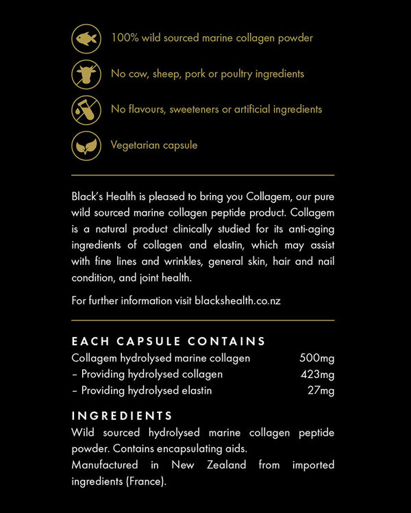 collagen capsules ingredients