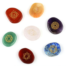 7 piece Chakra Stone - The Clothing Corp