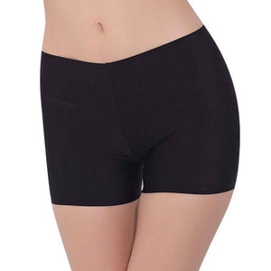 Women's Seamless Silk Under Skirt Shorts - The Clothing Corp