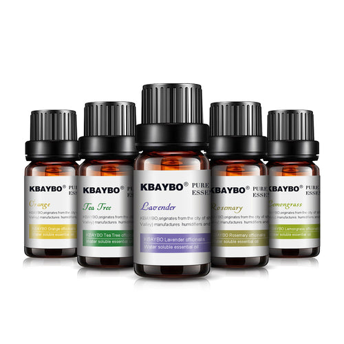 Essential Oil Lavender, Tea Tree, Rosemary, Lemongrass, Orange - The Clothing Corp