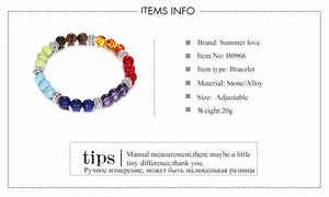 Healing Beaded Bracelet - The Clothing Corp