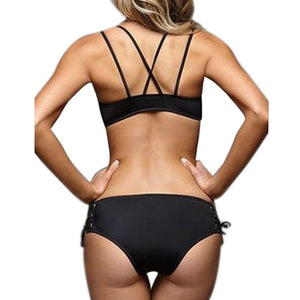 Bikini Bandage Push Up Swimwear - The Clothing Corp