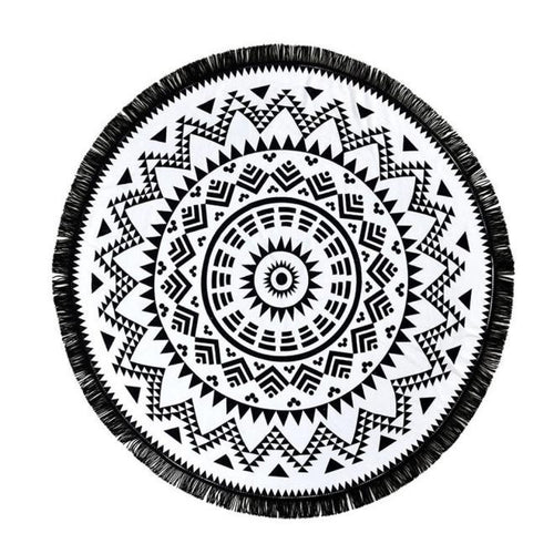 Round Mandala - The Clothing Corp