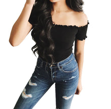 Women's Strapless Off Shoulder Top - The Clothing Corp