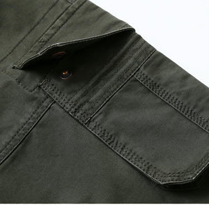 Men's Multi Pocket Military Cargo Pants - The Clothing Corp