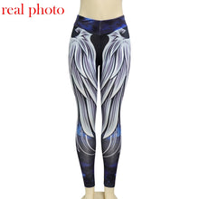 Women's 3D Wing Pattern Leggings - The Clothing Corp