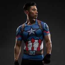 Men's Superhero 3D Compression T-Shirt - The Clothing Corp