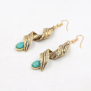 Turquoise Earings - The Clothing Corp