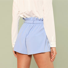 Women's High Waist Ruffled Summer Shorts - The Clothing Corp