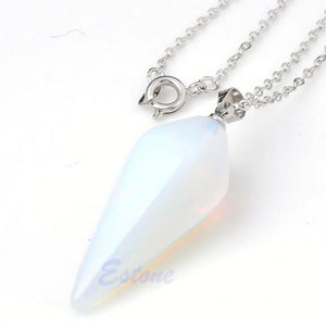 Rose Quartz Pendulum - The Clothing Corp