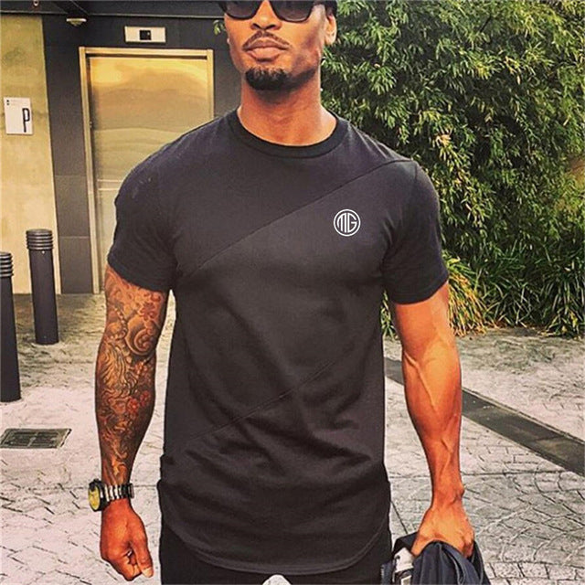 Men's Quality Cotton Bodybuilding T-Shirts - The Clothing Corp