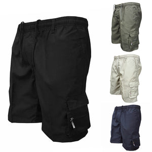 Men's Military Style Multi Pocket Cargo Shorts - The Clothing Corp